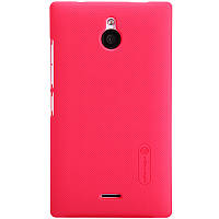 Чехол Nillkin для Nokia XL красный (+пленка)