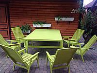 Комплект мебели для дома и сада из дерева