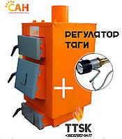 Котлы твердотопливные с автоматическим регулированием горения, САН Эко (М) мощностью 10 кВт