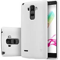 Чехол Nillkin для LG G4 Stylus белый (+пленка)