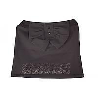 Красивая школьная юбка черного цвета