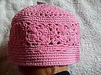 Вязанные шапульки для девочек очень красивые, натуральные  Ergee Германия