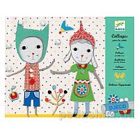 Художественный комплект Коллаж для самых маленьких Малыши Djeco