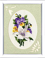 Набор для вышивки Золотое Руно  БТ-003 Бутоньерка с лилией