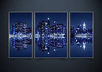 """Схема-триптих для вышивки бисером на атласе """"Нью-Йорк"""" (Серия Элит"""""""