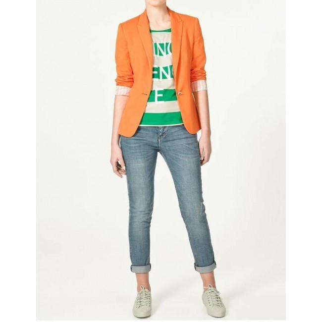 Пиджак женский с джинсами доставка