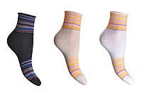 Носки женские медецинские без резинки с рисунком р.25 арт.282