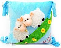 Мягкая игрушка-подушка Овечки 45х40 см
