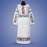 """Жіноче  сукня з вишивкою """"Мавка"""" біле"""