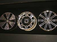 Инкрустация кристаллами Svarovski колёсных дисков