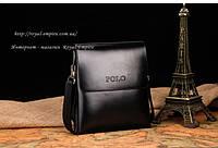 """Удобная и стильная сумка """"Никл"""".От фирмы POLO  черная."""