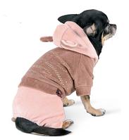 """Велюровый костюм """"ЛУИС""""  для собак, размер  XXS"""