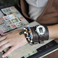 Наручные часы с браслетами Сова из Кофе