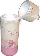 Термоконтейнер для одной бутылочки  Розовые сны