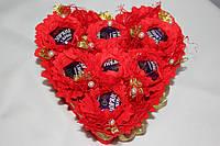 Букет из конфет Влюбленное сердце