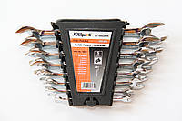 Набор рожковых ключей JOBIprofi 8 шт, 6-22 мм,  Cr-V сталь