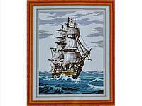 Набор для вышивки картины Корабль 44х35см