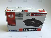 Тормозные колодки задние на Daewoo Lacetti 1.4-1.8 Nubira 1.6-2.0(16V) Пр-во Ferodo