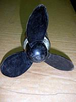 Моторчик МЭ11 12/5.  Моторчик вентилятора с лопастью, фото 1
