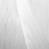 Тафта однотон. плиссе белый