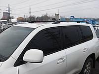 "Рейлинги ""оригинал"" (с металлическими наконечниками) Toyota land cruiser 200 (Тойота Ленд крузер 2006+)"