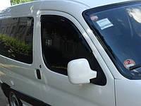 Дефлекторы дверей (ветровики) Peugeot Partner 1996-2008