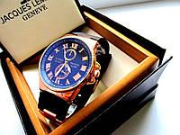 Наручные часы мужские Ulysse Nardin классика черные, интернет - магазин часов