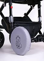 Чехлы на колеса детской коляски 0341