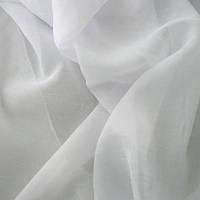 Тюль вуаль креш белый