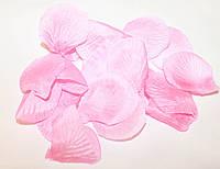 Лепестки роз свадебные (нежно-розовые)