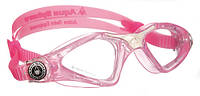 Детские очки для бассейна Aqua Sphere Kayenne Junior, clear lens pink/white