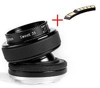 Lensbaby Composer PRO with Sweet 35 Optic на Canon+одуванчик Лушникова (чип подтверждения резкости)