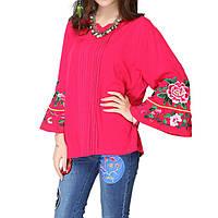 Женская блузка Розовая