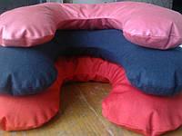 Массажная подушка для шеи с гречневой шелухой