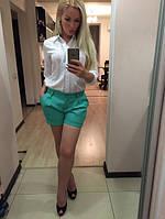 Комплект женский шорты и рубашка