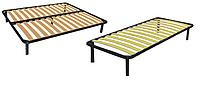Каркас кровати 190х80 XL (ламельное основание, 4 ножки)