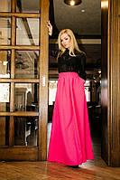 Женская длинная юбка в пол