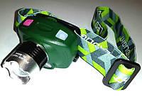 Налобный фонарь с датчиком движения Police LL-6644