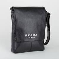 """Сумка мужская с логотипом """"Prada"""" А4"""