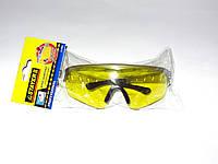 Очки защитные STAYER, поликарбонатные желтые линзы