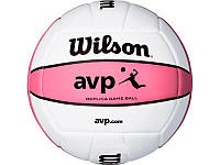 Мяч волейбольный Wilson AVP REPLICA PINK - DEFL SS14