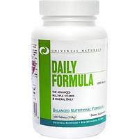 Universal Nutrition Мультивитаминный комплекс Universal Nutrition Daily Formula, 100 таб.