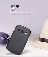 Чехол Nillkin для Samsung Galaxy Fame S6810 чёрный (+пленка)