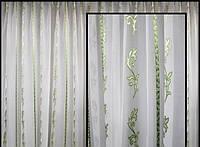 Тюль для спальни  с микровуали
