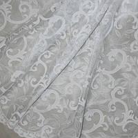 Гардинное полотно леони, белый