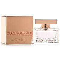 Женская парфюмированная вода Dolce & Gabbana Rose The One 75 ml (Дольче Габанна Роуз Зе Ван)