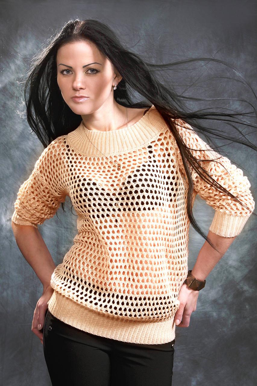 Ажурный Пуловер Для Женщин Доставка