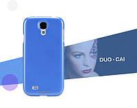 Чехол Nillkin Multi-Color для Samsung Galaxy S4 I9500 голубой (+пленка)