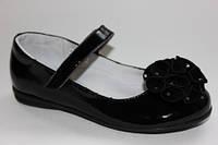 Кожаные туфли для девочек (школа) ТМ Lapsi 34р.