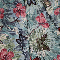 Декор форест бабочки розов.бирюза голубой